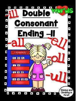 double consonant  ll    ell ill