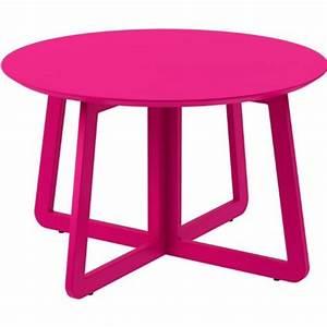 Table Basse Rose : table basse rose pas cher ~ Teatrodelosmanantiales.com Idées de Décoration