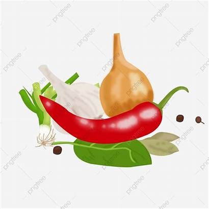 Chili Garlic Clipart Onion Pepper Transparent Addition