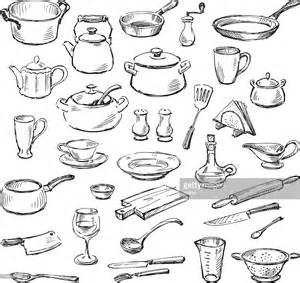 ustensiles de cuisine clipart vectoriel getty images