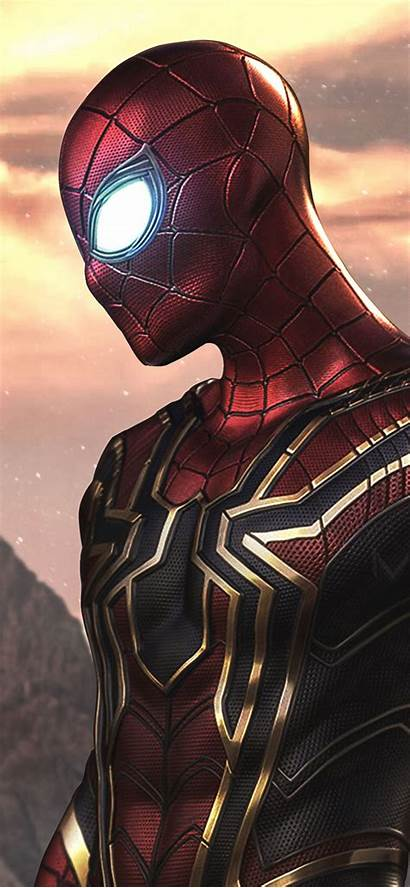 Iphone Spider Iron Wallpapers Spiderman Xr Mobile