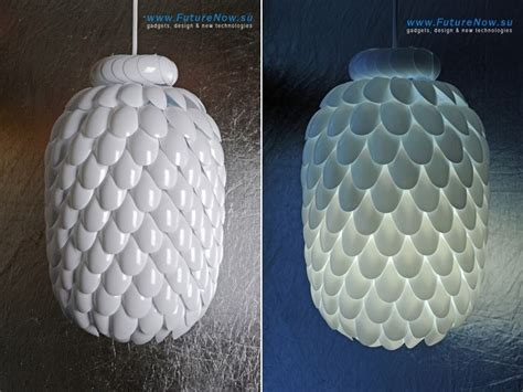 Plastic Spoons Into Lamp   DIY   iCreatived