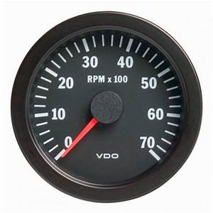 Vdo 80mm Electronic Tachometer 7000rpm