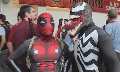 Cosplay Deadpool Gifs Marvel Superhero Spiderman Works