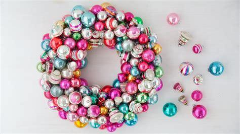 martha stewart white christmas ornaments ornament wreath martha stewart