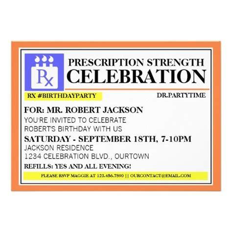 prescription label template prescription label invitations invitations and