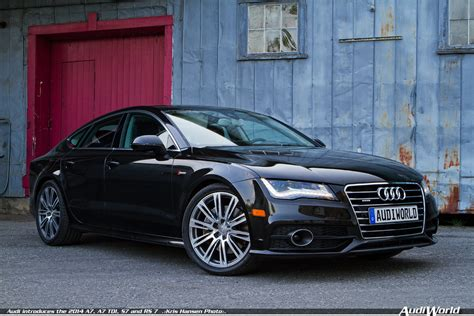 audi introduces the 2014 a7 a7 tdi s7 and rs audiworld