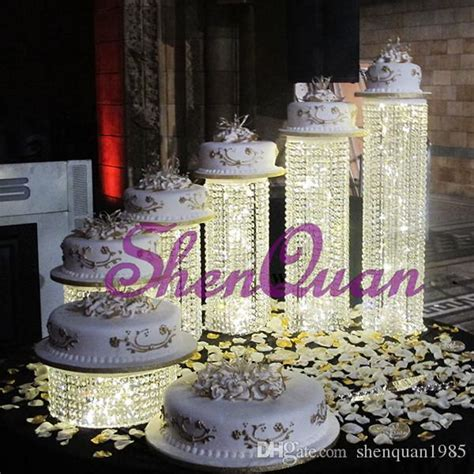 crystal cake stands  wedding cakesstand