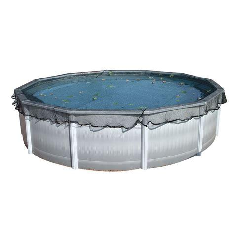 filet de protection anti feuille pour toute piscine hors sol