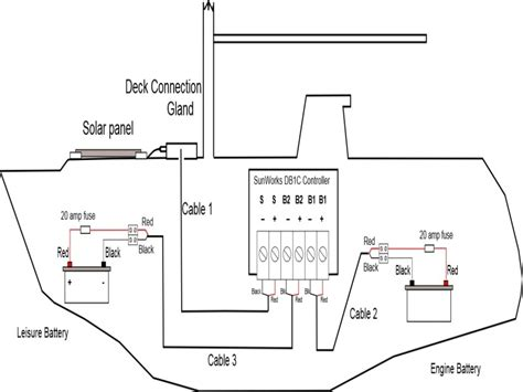 Twin Engine Boat Battery Wiring Diagram Forums