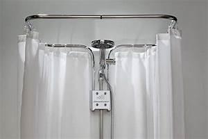 Duschvorhang Halterung Ohne Bohren : duschvorhang halterung albert bad bathroom in 2019 duschvorhang halterung ~ Watch28wear.com Haus und Dekorationen