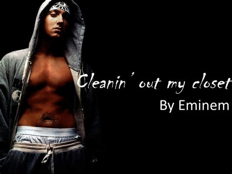 Cleanin Out My Closet Mp3 by Eminem Cleanin Out My Closet Mp3 Qoret