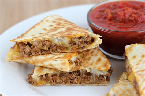 hamburger dinner beef quesadillas recipe cooking and recipes