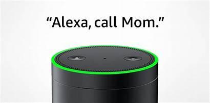 Alexa Echo Calling Device Animated Messaging Announces
