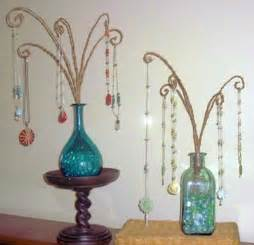 Glass Bottle Jewelry Displays
