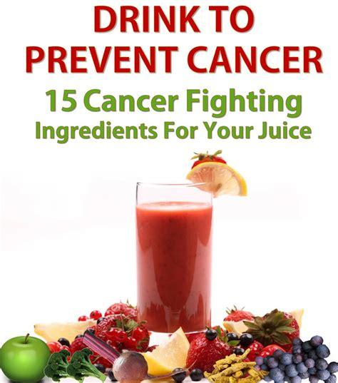 cancer fighting juice juicing ingredients recipes health extractor