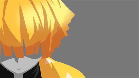Anime, anime karakterler, manga anime hakkında daha fazla fikir görün. demon slayer zenitsu agatsuma on side with gray background 4k hd anime-HD Wallpapers | HD ...