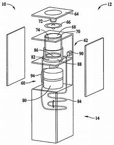 Patent Us20060086137 - Method And Apparatus For Operating A Water Cooler
