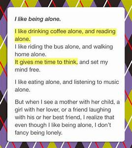 The Difference Between Being Lonely And Being Alone
