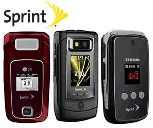 sprint new phones upcoming sprint cell phones 2009 icellphonedeals