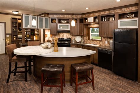 mobile home kitchen islands views of a mobile home inside and out getting to 7552