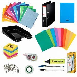 Pack Fournitures Office Kits Papeterie Gnrique Sur