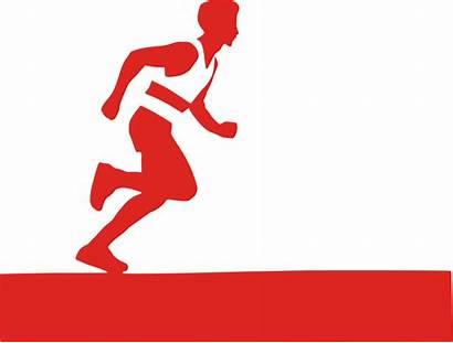 Runner Icon Marathon Drawing Clipart Running Icons