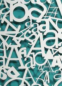 typography poster typography and papercraft on pinterest With papercraft letters