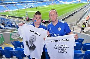 Leicester pay tribute to Vichai Srivaddhanaprabha with ...