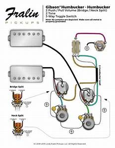 Les Paul Wiring For 2 Wire And 4 Wire Humbuckers