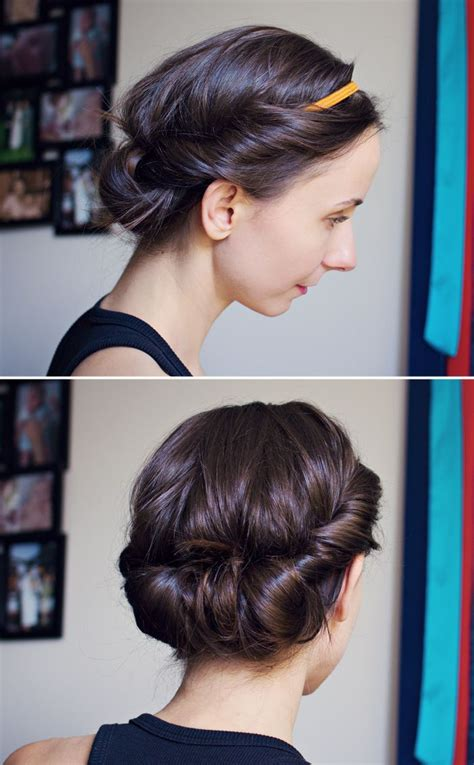 attractive hairstyles   hairbands
