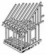 Building Construction Clipart Building frame  Construction House Clip Art Black And White