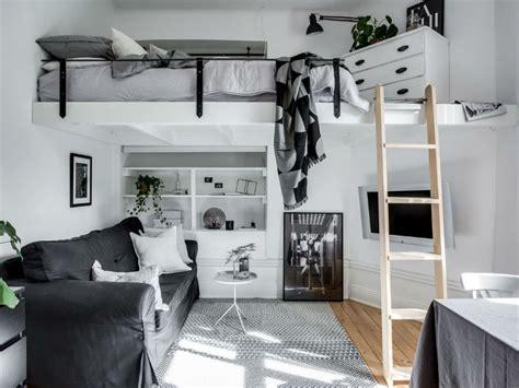 Tiny Scandinavian Studio Loft tiny scandinavian studio loft decoholic