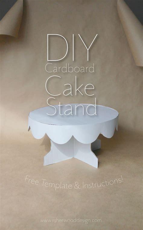 diy cardboard cake stand cardboard cake stand cake