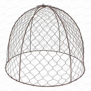 Cloche De Protection Pour Spot Encastrable : cloche de protection en grillage poule lot ~ Dailycaller-alerts.com Idées de Décoration