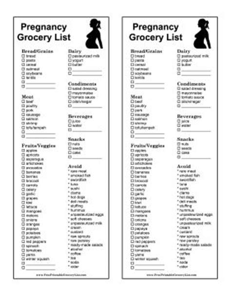 25+ best ideas about Pregnancy food list on Pinterest