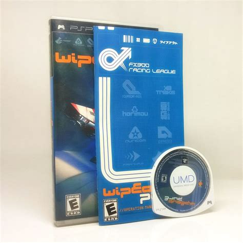 wipeout psp pure playstation portable game games comes