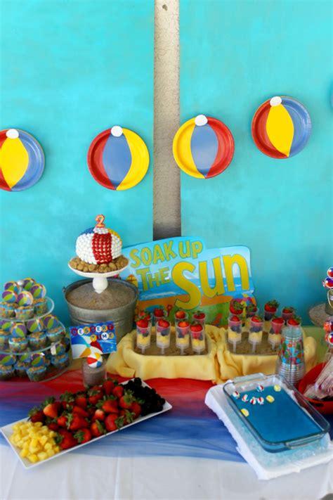 karas party ideas beach ball birthday party supplies