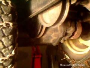 How To Replace A Drive Belt On A John Deere 210 Or Any