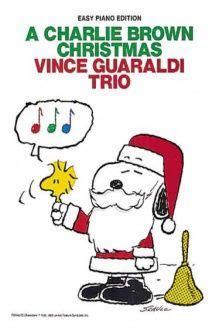 vince guaraldi trio a charlie brown christmas sheet music gene autry rosemary clooney the night before christmas