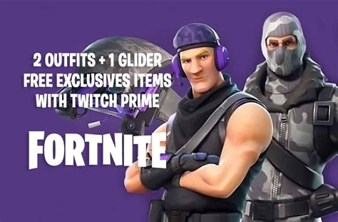 fortnite twitch prime guide       skins