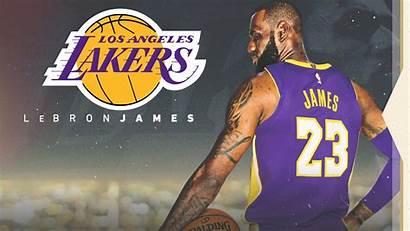Lebron Lakers James Wallpapers Desktop Iphone Basketball