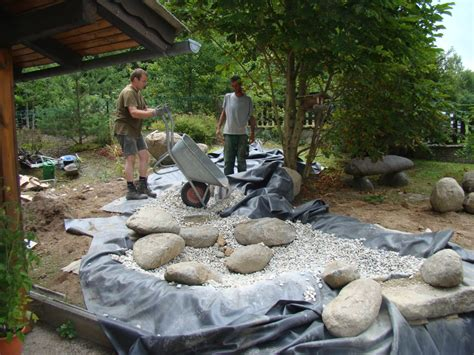 gartengestaltung mit steinen und kies bilder gartengestaltung blumen lechner beratung planung biotope bewaesserung steine pflaster