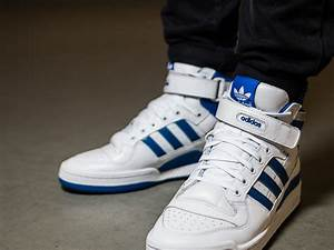 Men's Shoes sneakers adidas Originals Forum Mid Refined ...