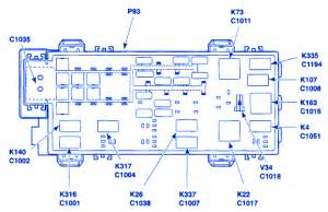 Isuzu Npr Fuse Box Diagram Cargo Light by Ford Ranger 2005 Power Supply Junction Fuse Box Block