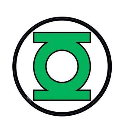 green lantern symbol sticker