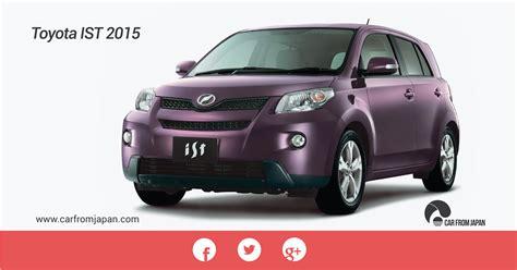 toyota mini car toyota ist a great option in mini car world