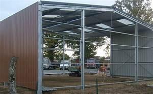 Batiment Moins Cher Hangar : batiment industriel en kit ~ Premium-room.com Idées de Décoration