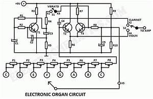 Electronic Organ Circuit