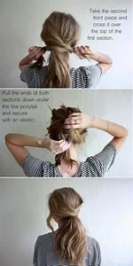 22 Cute Ponytails for Long & Medium Length Hair Straight, Messy, Braided
